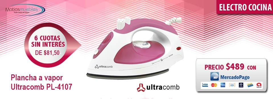 Plancha a vapor Ultracomb PL-4107