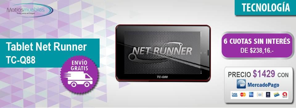 Tablet Net Runner TC-Q88
