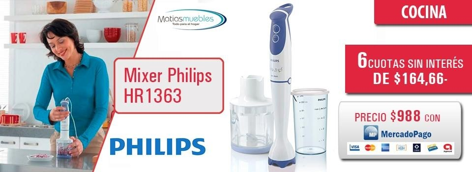 Mixer Philips HR1363